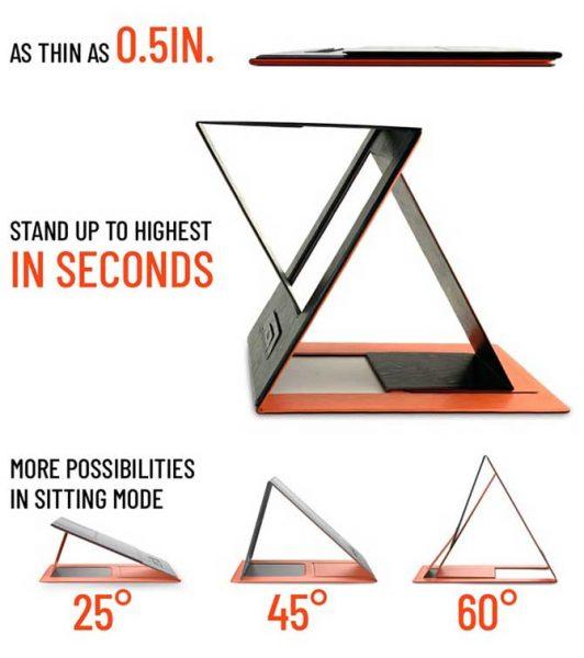Đánh Giá Chi Tiết Bàn Laptop Xếp Đứng MOFT Z