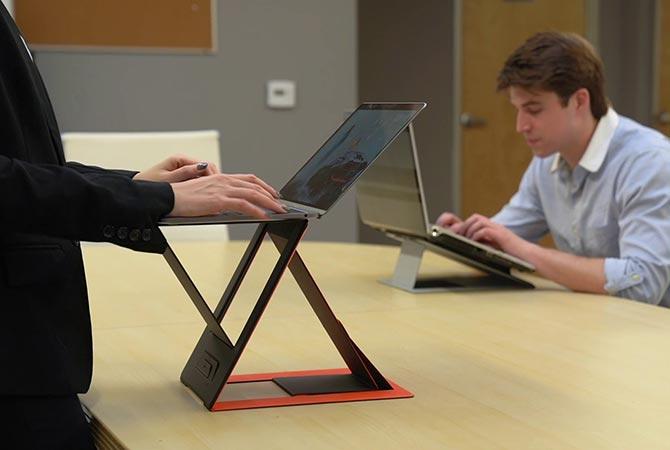 """MOFT Z Bàn Laptop Xếp Đứng """"Vô Hình"""" Đầu Tiên Trên Thế Giới"""