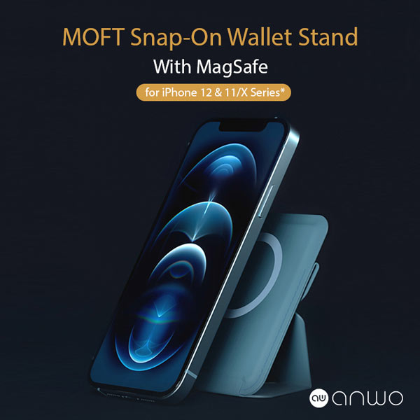 MOFT Snap-On Wallet Stand