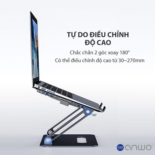 Chân đế laptop boneruy p43f