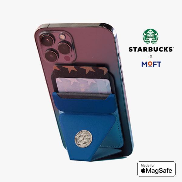Giá đỡ điện thoại Starbucks x MOFT Snap-On Phone Stand & Wallet